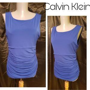 Calvin Klein royal blue top.  Sz med